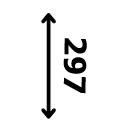 Plakato dydis 297 mm